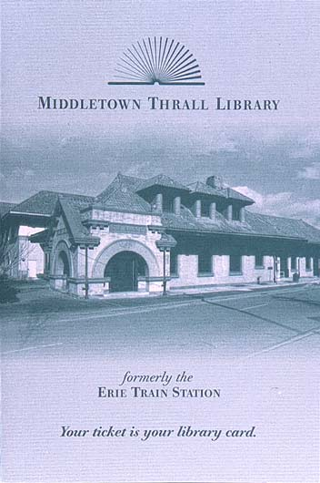 Middletown Thrall Library | Identity Design
